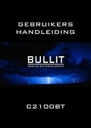 GEBRUIKERS HANDLEIDING C2100BT - Rho-Delta Automotive ...