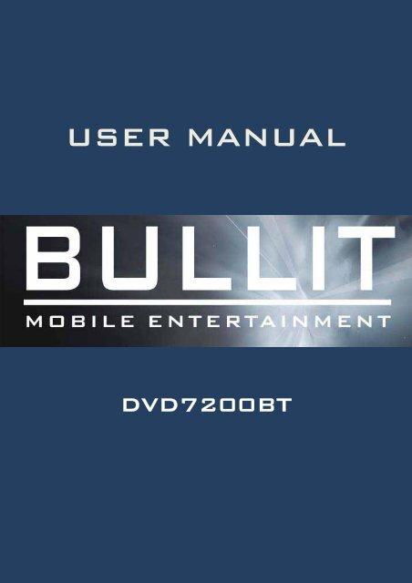 dvd7200bt english - Rho-Delta Automotive & Consumer Products