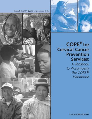 COPE® for Cervical Cancer Prevention Services: A Toolbook ... - RHO