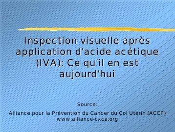 IVA - IARC Screening Group