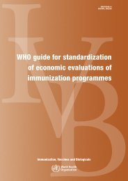 World Health Organization guide for standardization of ... - RHO