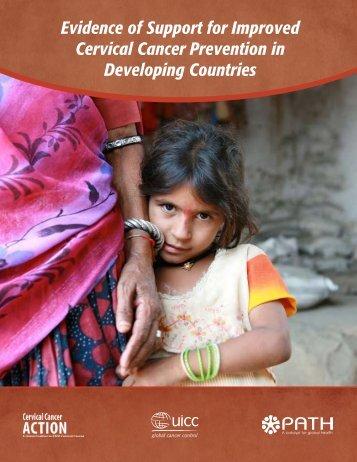 Evidence of Support for Improved Cervical Cancer Prevention ... - RHO