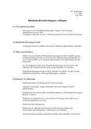 Rhododendronforeningens vedtægter