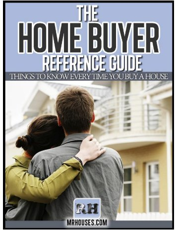 The Home Buyer Reference Guide - RHOffers.com