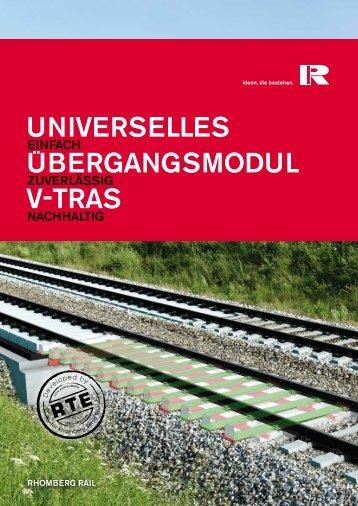 UNIvERSELLES UBERGANGSMOdUL v-TRAS