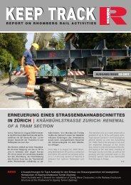 Download Keep Track Ausgabe 08_2007 - Rhomberg Bahntechnik