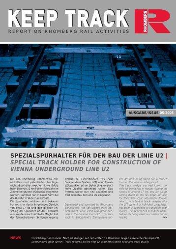 Download Keep Track Ausgabe 05_2005 - Rhomberg Bahntechnik