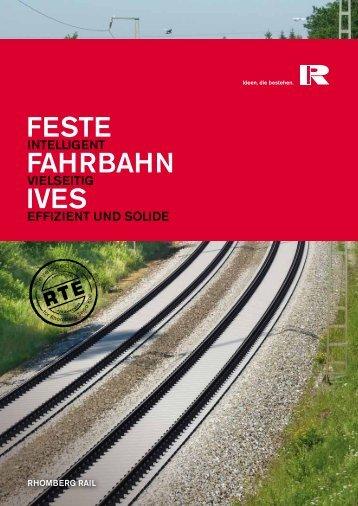 FESTE FAHRBAHN IVES - Rhomberg Bahntechnik
