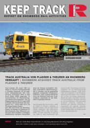 Download Keep Track Ausgabe 04_2005 - Rhomberg Bahntechnik