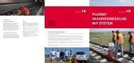 plasMa® GlEisvERMEssunG Mit systEM - Rhomberg Bahntechnik