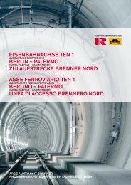 eisenbahnachse ten 1 berlin - Arge Alptransit Brenner