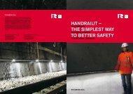 HandrailIT - Handrail System - Rhomberg Bahntechnik