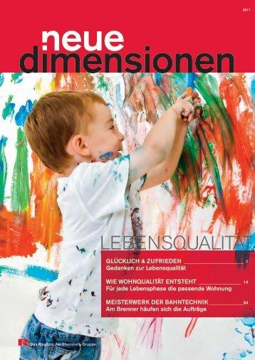 Neue Dimensionen - Rhomberg Bau AG