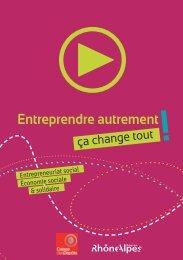 Entreprendre autrement - Rhône-Alpes Solidaires