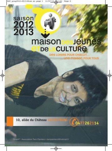 MJC prog2012-2013:Mise en page 1