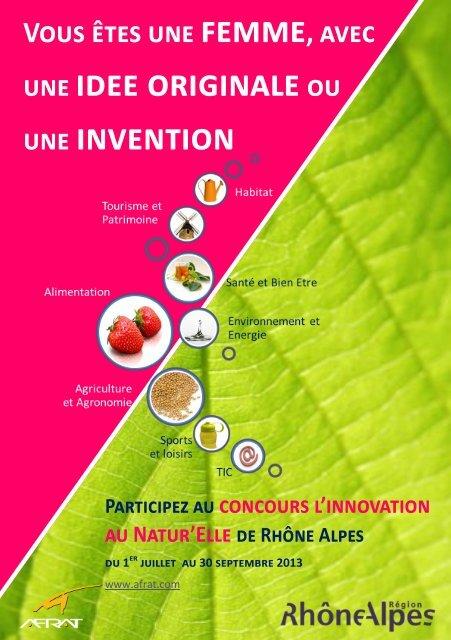 une idee originaleou une invention - Rhône-Alpes Solidaires