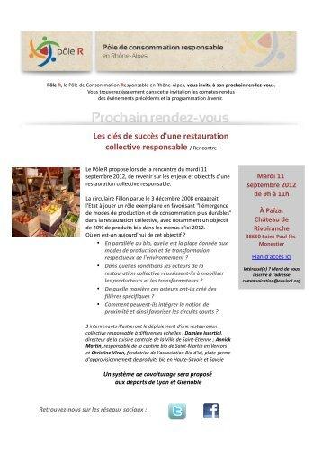 Observatoire 2011 des produits biologiques en restauration for Emploi responsable de restauration collective