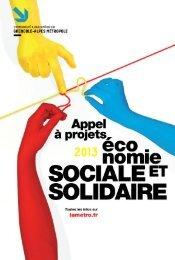 aPPeL À ProJeTS - Alpes Solidaires