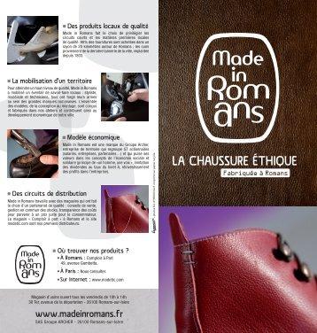 LA CHAUSSURE ÉTHIQUE - Rhône-Alpes Solidaires