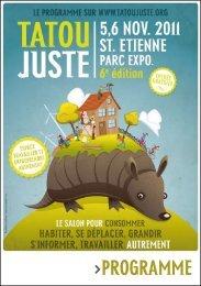 PROGRAMME - Tatou Juste