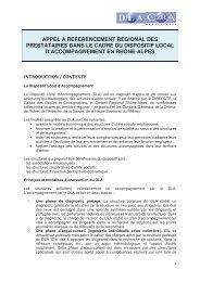 appel a referencement regional des prestataires dans le cadre du ...