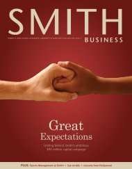 Great Expectations - Robert H. Smith School of Business - University ...