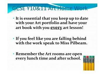 Homework – Years 10 & 11 - Rhyl High School