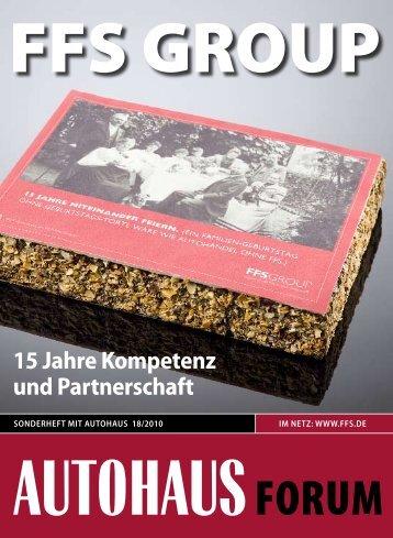 15 JaHre Partner - FFS
