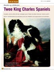 Twee King Charles Spaniels - Ria Hörter