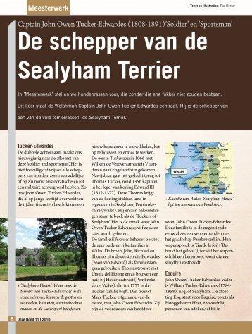 De schepper van de Sealyham Terrier - Ria Hörter