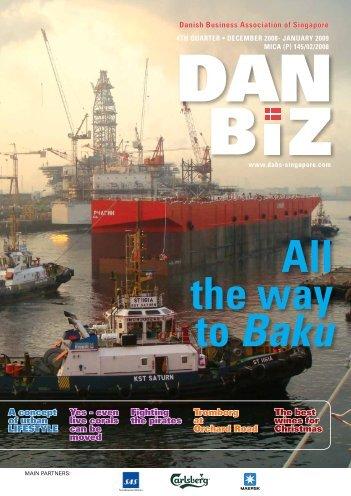 the way to Baku - Dabs Singapore