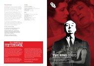 The RING (1927) - Cannes International Film Festival