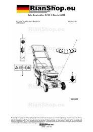 Sabo Benzinmäher 43-130 H Classic SA156 Seite 1 von 10