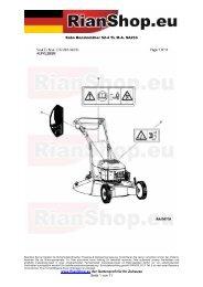 Sabo Benzinmäher 52-4 TL M.A. SA233 www.RianShop.eu der ...