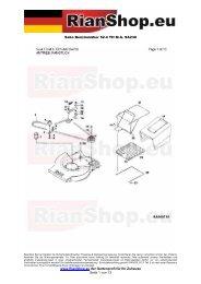 Sabo Benzinmäher 52-4 TH M.A. SA230 www.RianShop.eu der ...