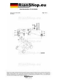 Sabo Benzinmäher 47-4 EA SA208 Seite 1 von 12