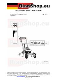 Sabo Benzinmäher 52-152 M.A. SA215 bis 005561 www.RianShop ...
