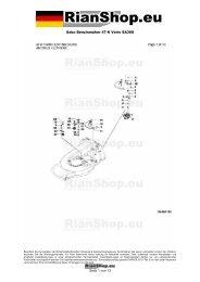 Sabo Benzinmäher 47-K Vario SA368 Seite 1 von 13