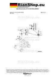 Sabo Benzinmäher 47-4 A SA149 bis 009550 Seite 1 von 13