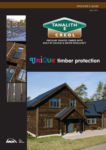 Tanalith E Creol - RIBA Product Selector