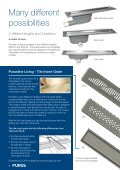 Purus Wetroom, Shower, Ensuite and Bathroom Drainage Solutions - Page 4