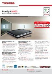 Portégé M400