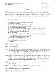 3. maj 2006. Referat Den 1. maj 2006, kl. 13.00 afholdt ... - Ribe Stift