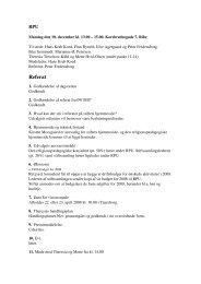 Referat - Ribe Stift