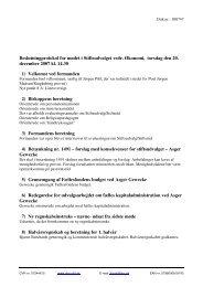Beslutningprotokol for mødet i Stiftsudvalget vedr ... - Ribe Stift