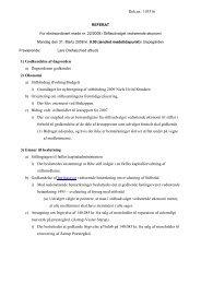 Dok.nr.: 103316 1) Godkendelse af dagsorden a ... - Ribe Stift