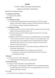 Referat af møde 23. maj 2008 - Ribe Stift