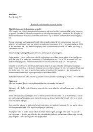 Beredskab ved seksuelle overgreb på børn - Ribe Stift
