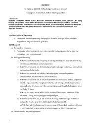 1 1) Godkendelse af dagsorden i) Formanden bød ... - Ribe Stift
