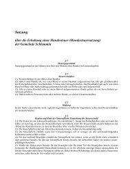 Satzung über die Erhebung einer Hundesteuer - Ribnitz-Damgarten